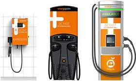 Chargepoint Express Dc Fast Chargers Allow Property Owners Businesseunilities To Offer Charging For All Of Today S Evs Equipped With