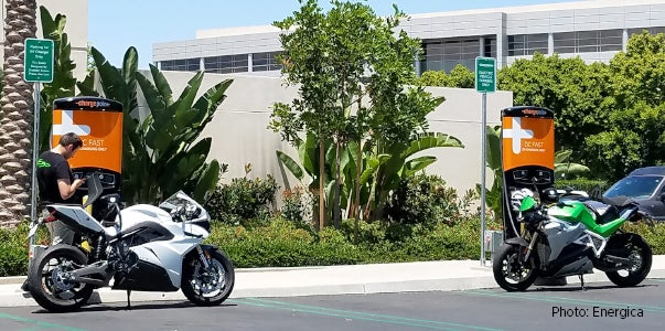Fast Charging Lets Electric Motorcycles Go Farther