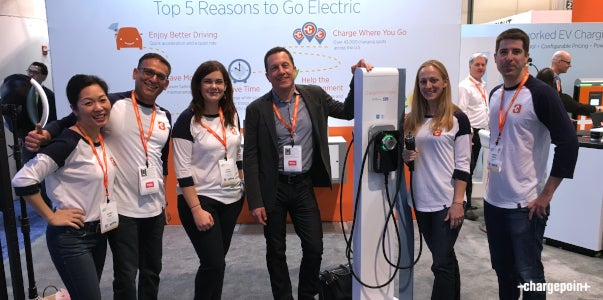 ChargePoint Life at CES