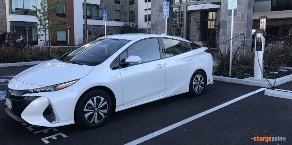 the complete guide to charging the toyota prius prime chargepoint