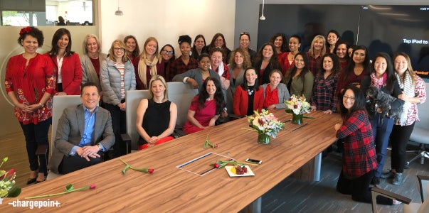 Celebrating the Women of ChargePoint