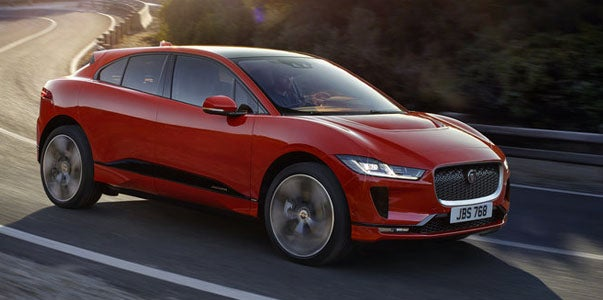 The Jaguar I-PACE Looks Good