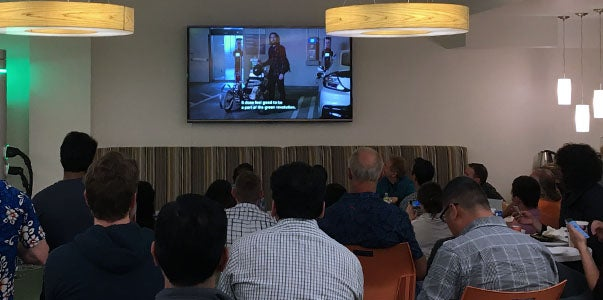 ChargePoint Silicon Valley Viewing Party