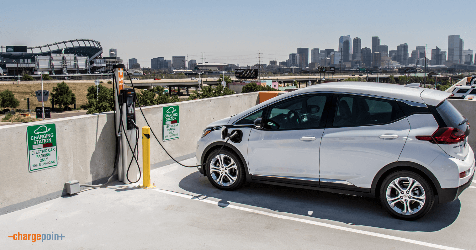 EV charging at CRE development