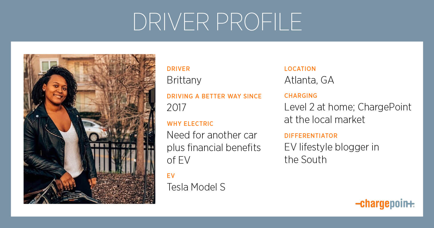 EV Driver Brittany Lives Life Electrified