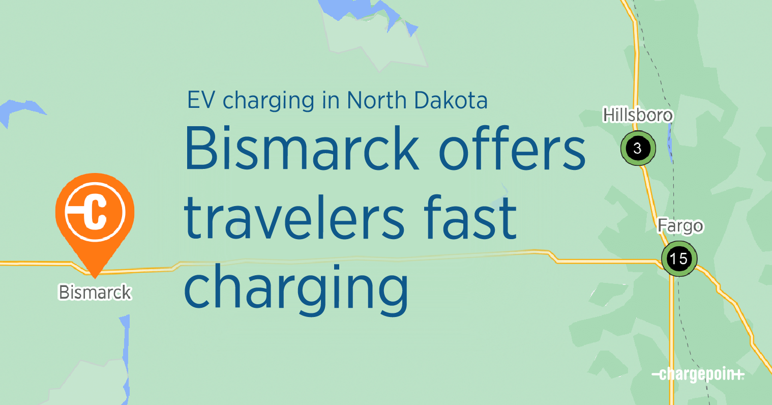 Bismarck offers travelers fast charging