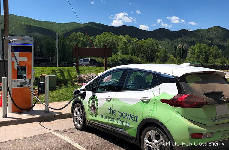 EV Charging at Holy Cross Energy