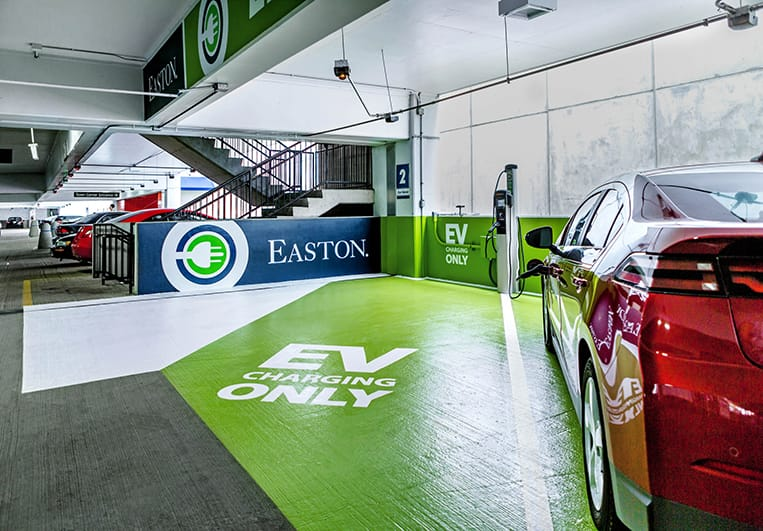 Easton Location with EV Charging