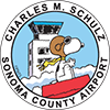Charles M. Schulz - Sonoma County Airport logo