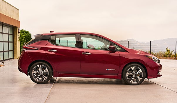 New Nissan LEAF Electric Vehicle
