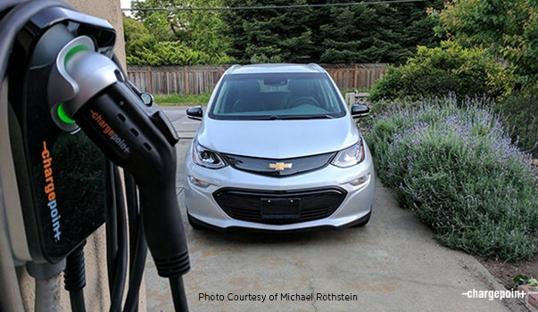 Charging The Bolt Ev At Home