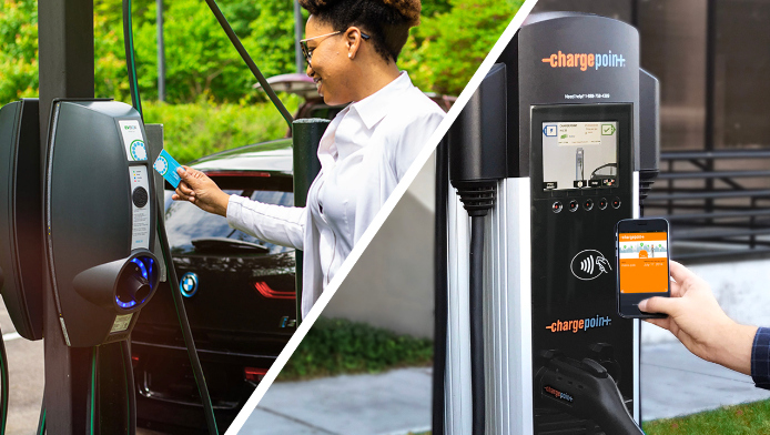 ChargePoint, EVBox