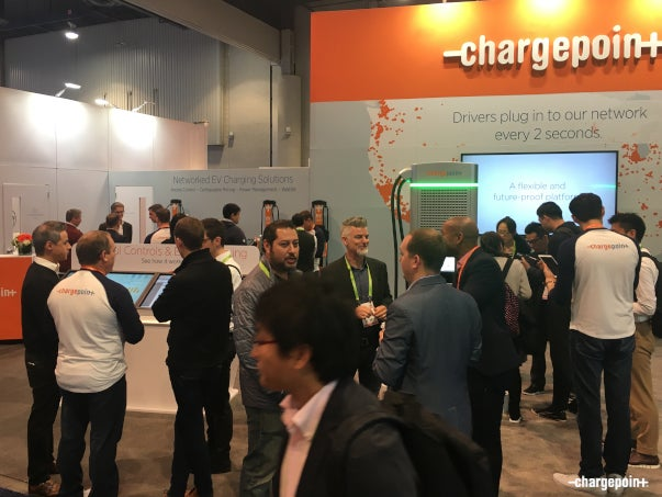 The Action-Packed ChargePoint Booth