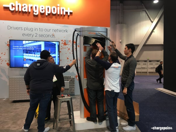 ChargePointers Make It Work at CES