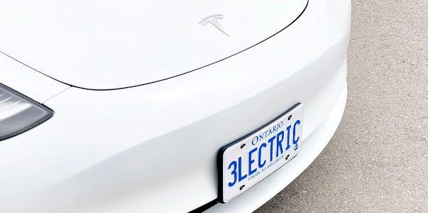 Best Electric Car License Plates
