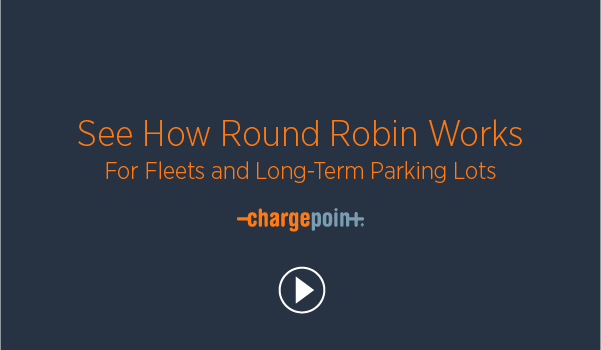 Round Robin Power Management for EV Charging
