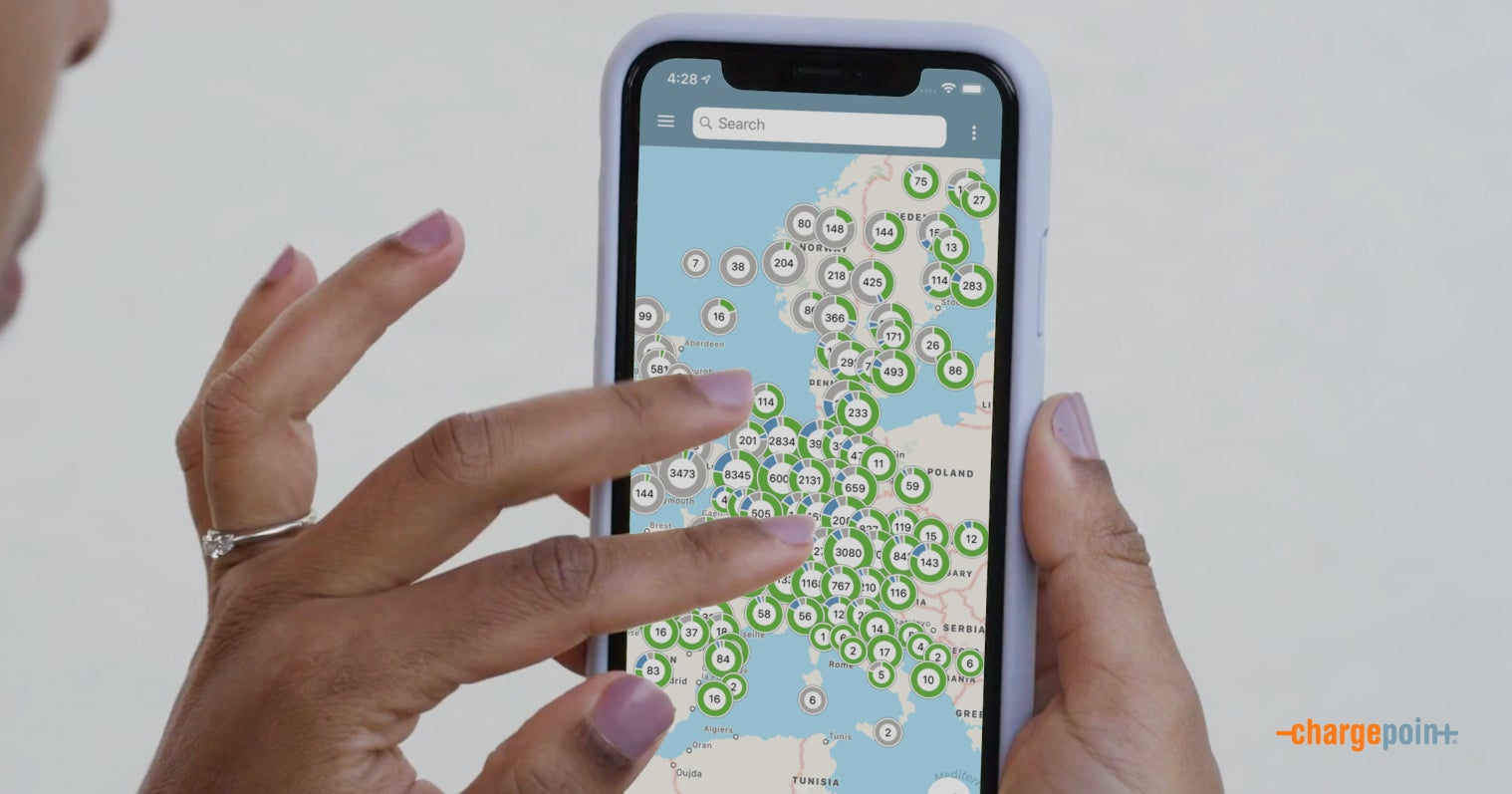 An App Helps Manage EV Charging