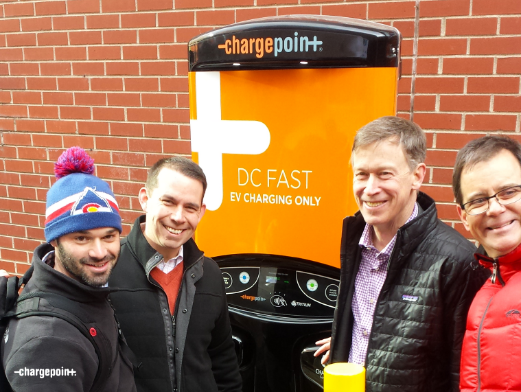 ChargePoint DC fast solution at The Alliance Center