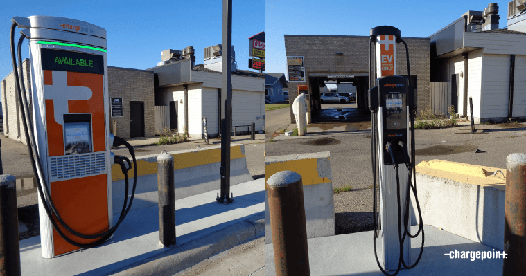 ChargePoint solution, Hillsboro, ND