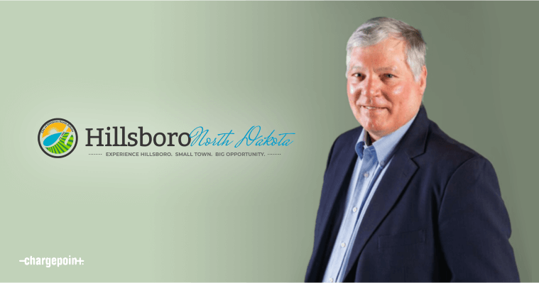 Terry Sando, President of the City Commission, Hillsboro, ND
