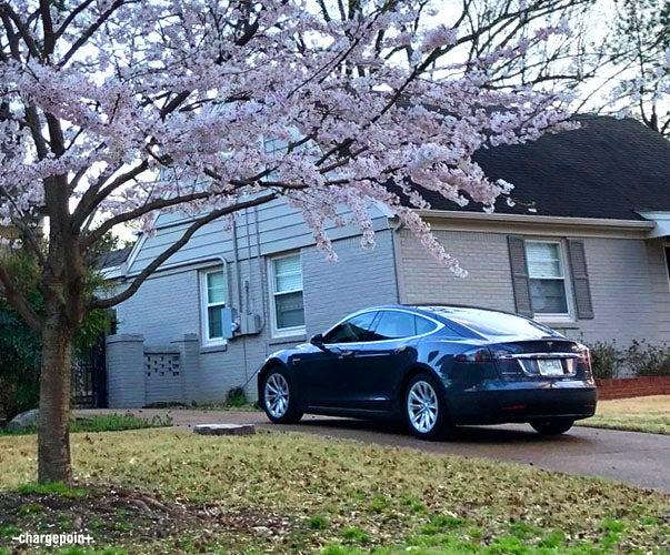 Tesla Model S At Home