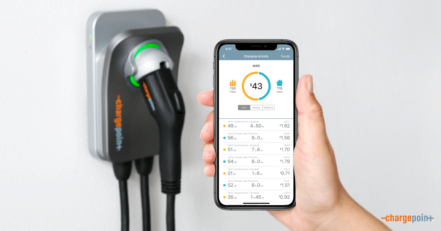 Track Your Savings from Driving Electric
