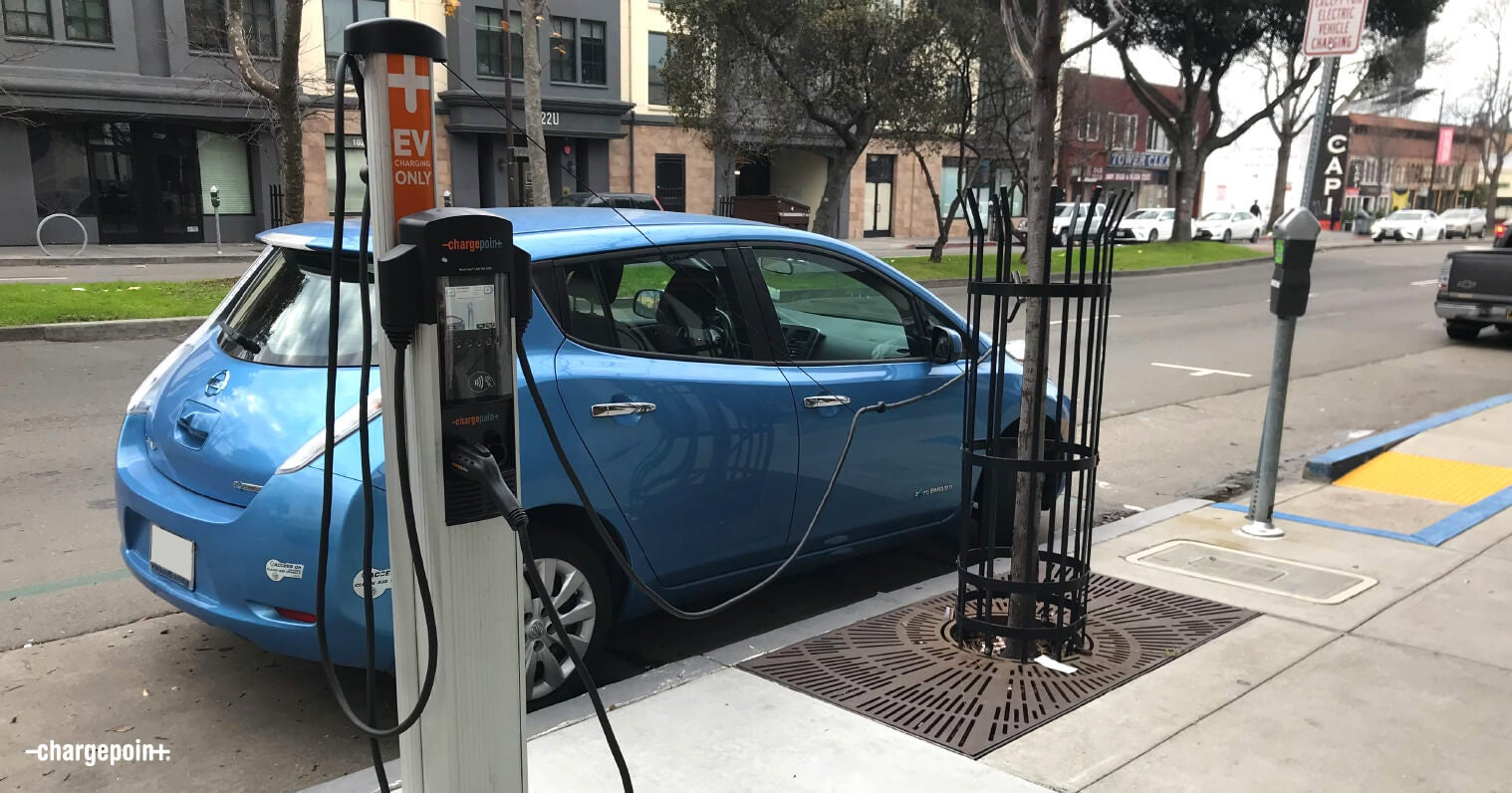 EV Charging Reduces Pollution