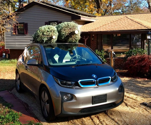 Chris has many reasons for choosing the BMW i3