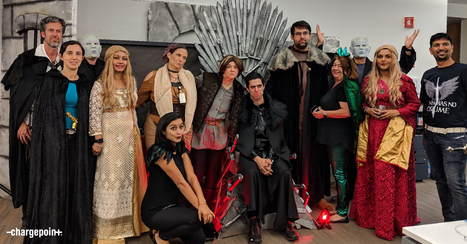 Engineering's Game of Thrones theme for the win!