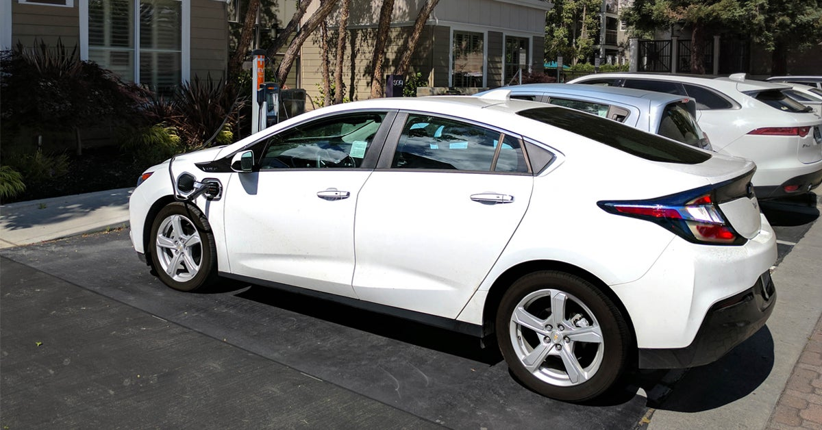 How to Charge the Chevy Volt