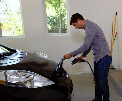 Charge Your Nissan Leaf At Home