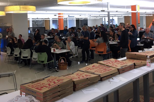 Silicon Valley Pizza Party