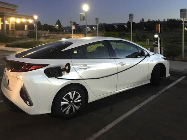 Charging Your Prius Prime At Work And Around Town