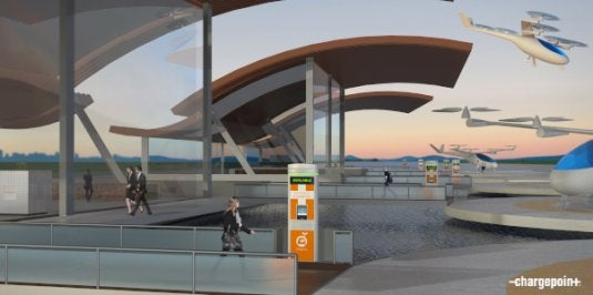 eVTOL Vehicles Will Charge at Vertiports