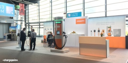 ChargePoint Exhibits at IAA