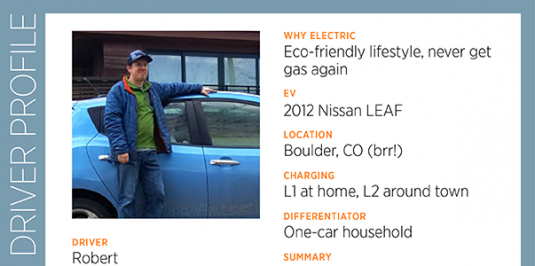 Robert Rocks the Nissan LEAF