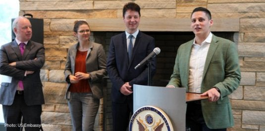 ChargePoint Speaks at the U.S. Embassy on Earth Day