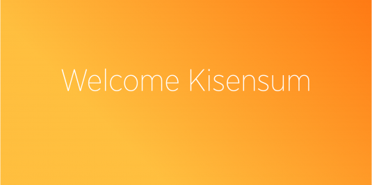 Welcome Kisensum