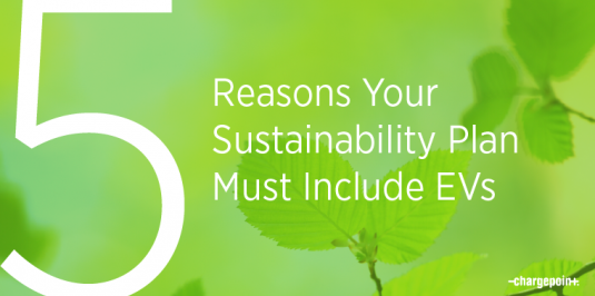 5 reasons your sustainability plan must include EVs