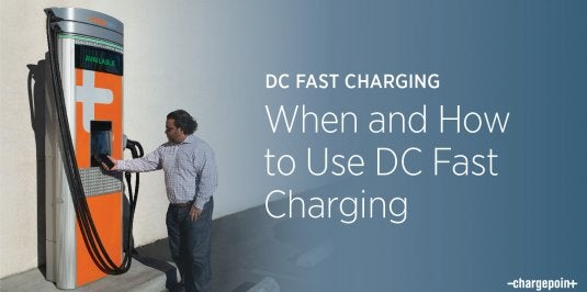 How to Use DC Fast Charging