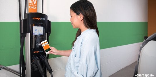 It's Easy to Charge an EV on ChargePoint