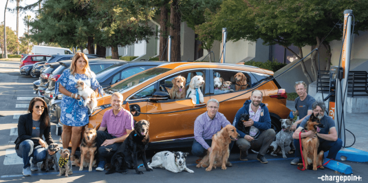 ChargePoint is a doggone great place to work!